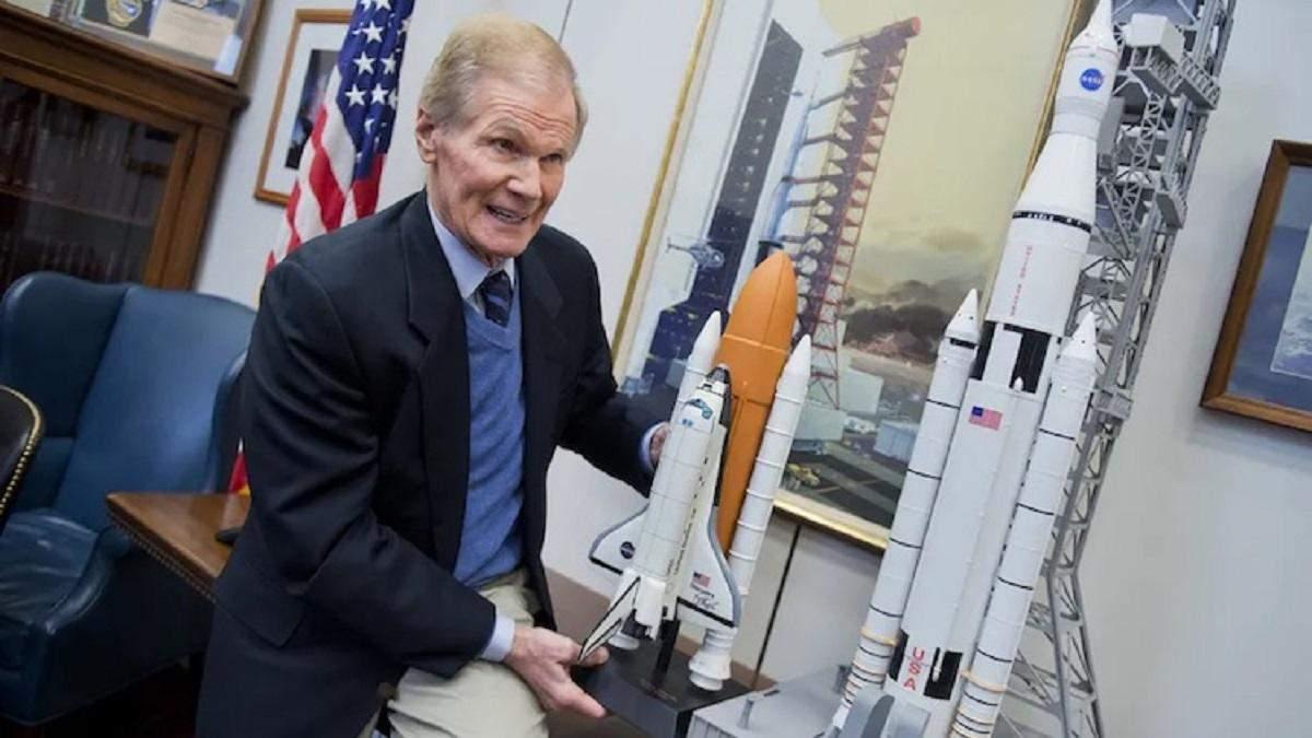 Бывшего сенатора и астронавта Билла Нельсона номинировали на пост главы NASA