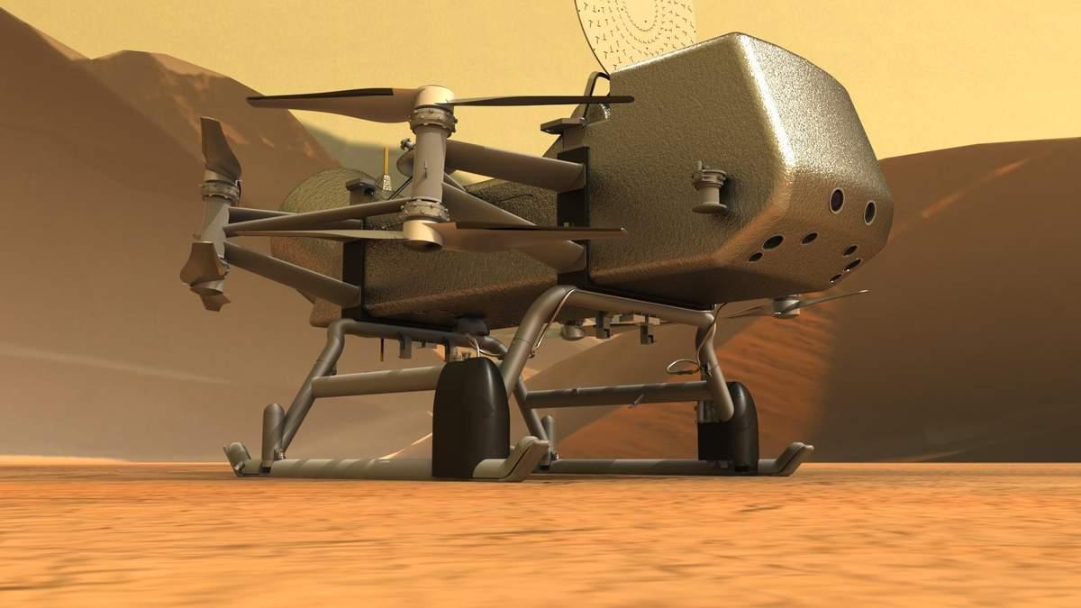 NASA одобрило проект аппарата для доставки образцов грунта с Титана