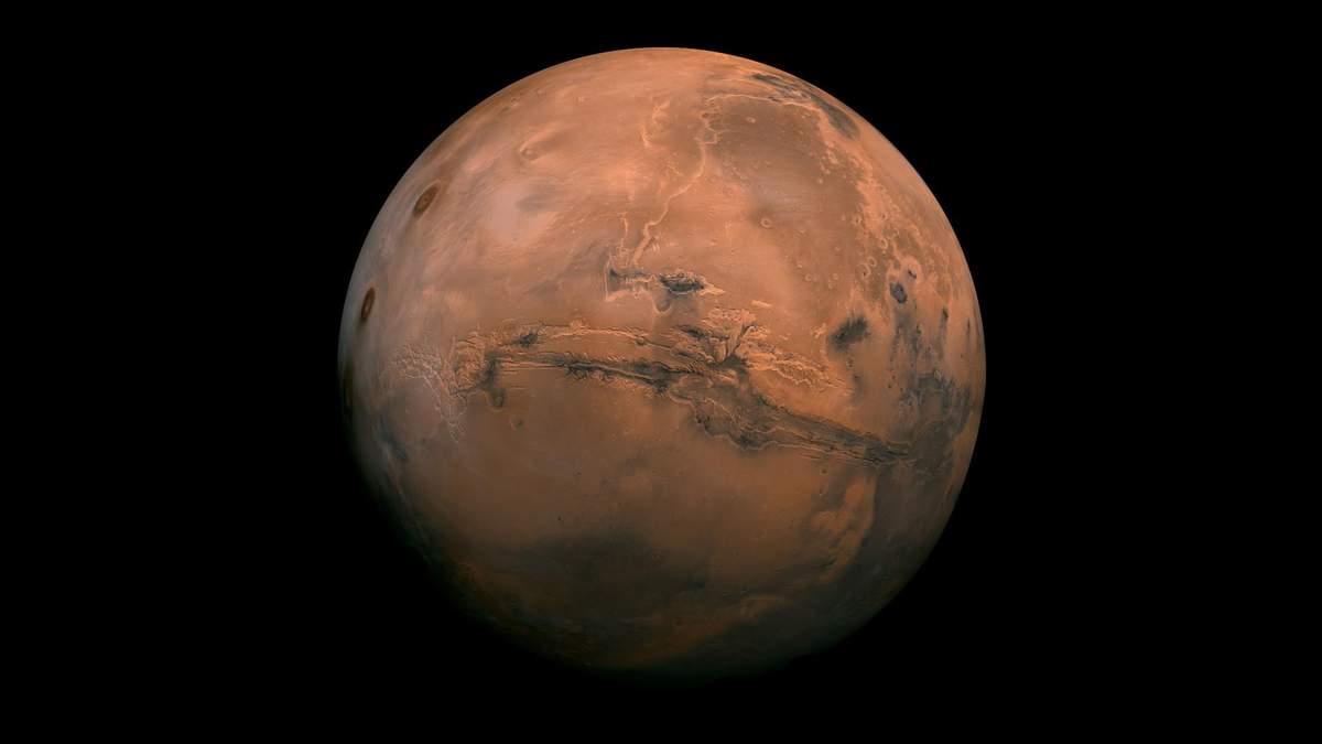 NASA опубликовало впечатляющее фото марсианских дюн, покрытых изморозью