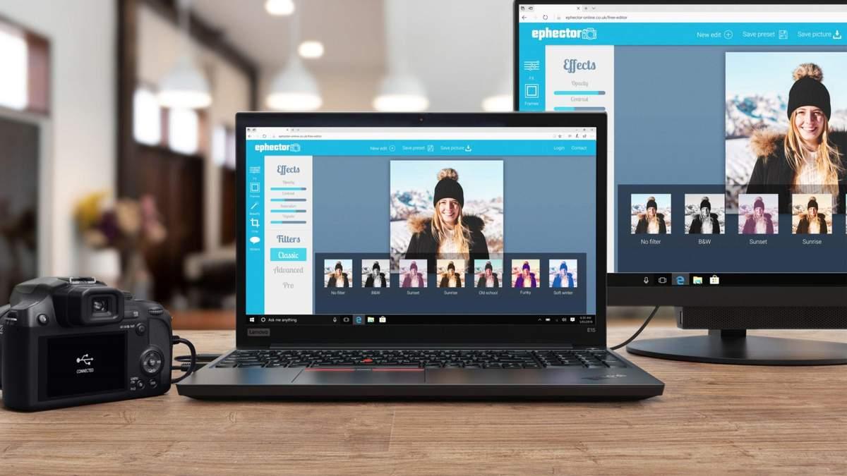 Ноутбук Lenovo ThinkPad E15 второго поколения: цена в Украине
