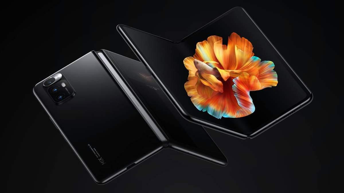 Xiaomi офіційно представила свій перший складний смартфон Mi MIX FOLD