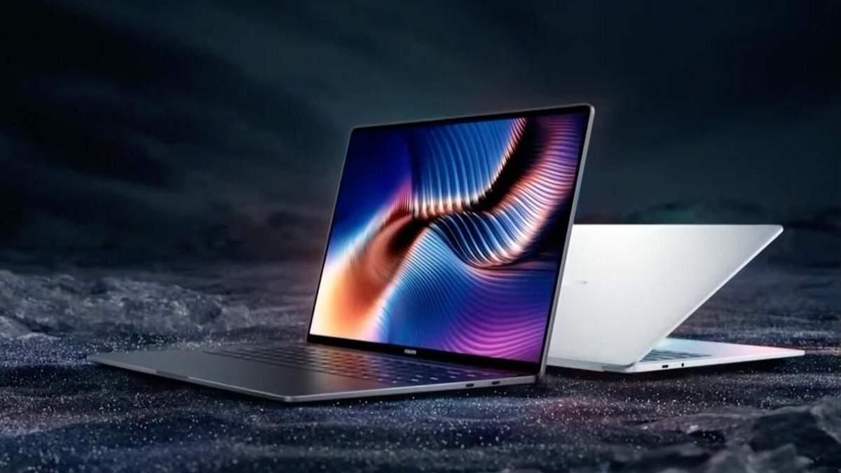Xiaomi представила потужний ноутбук Mi Laptop Pro з тонкими рамками