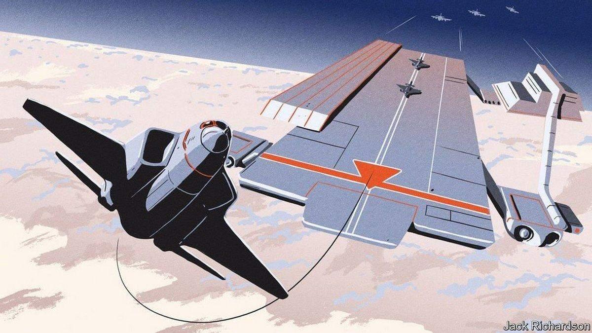 DARPA поручили разработку воздушного авианосца с тысячами дронов на борту