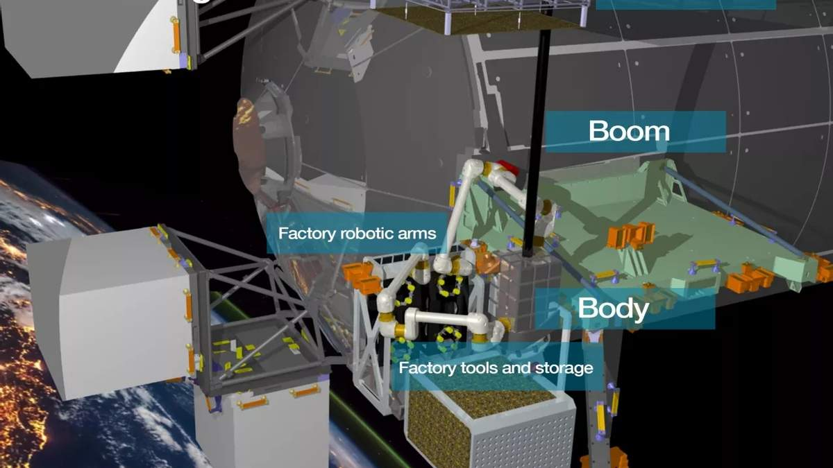 Airbus построит на орбите Земли первую фабрику – она будет собирать спутники
