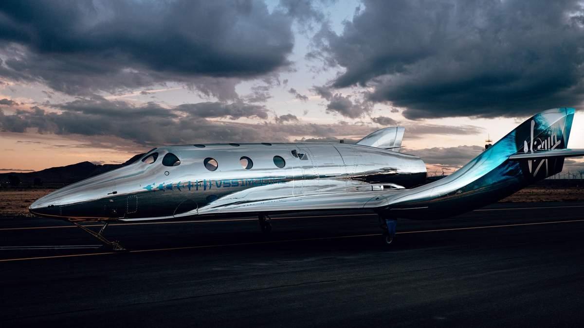 Virgin Galactic представила свой космоплан SpaceShip 3