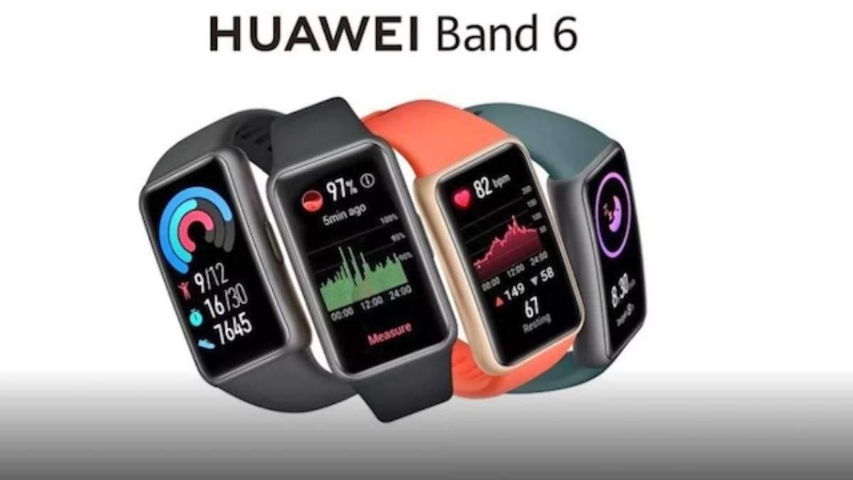Трекер Huawei Band 6, что выглядит как смарт-часы, появился на фото