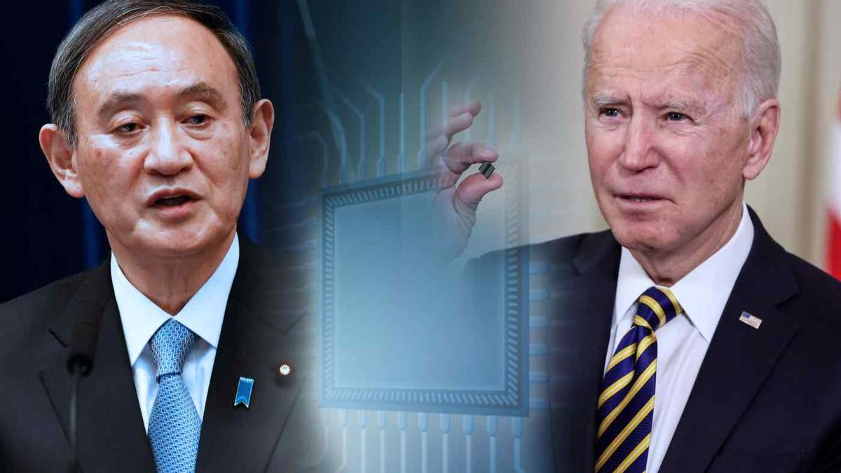 Япония и США совместно будут искать пути выхода из кризиса полупроводников