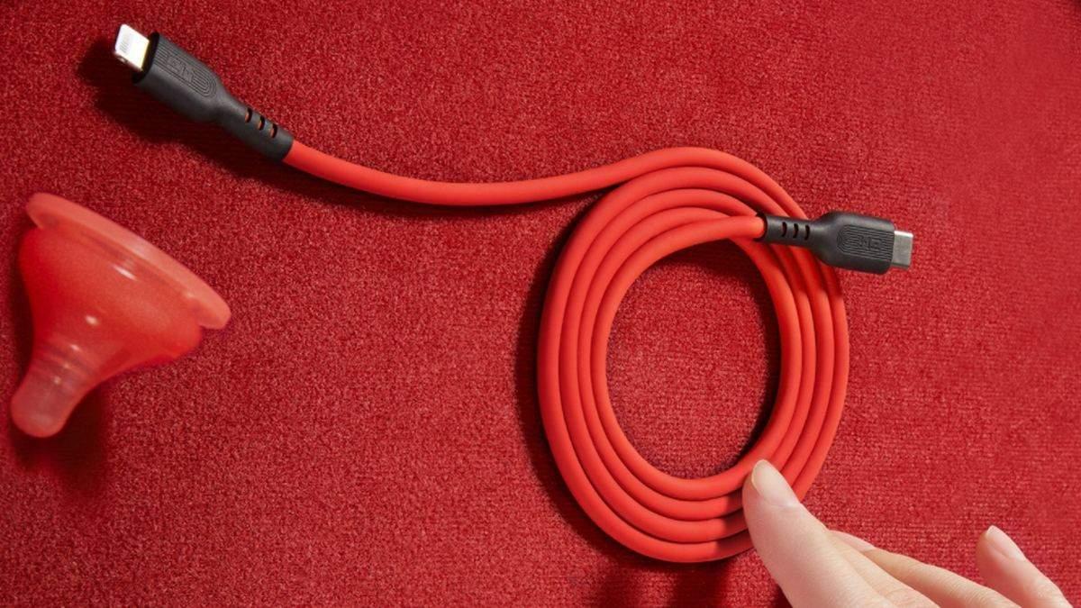 Xiaomi випустила зарядний кабель для iPhone і iPad, який витримає 30 000 згинань