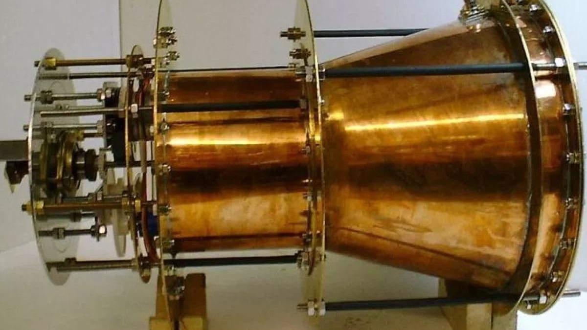 Невозможный космический двигатель EmDrive после тщательных проверок оказался нерабочим