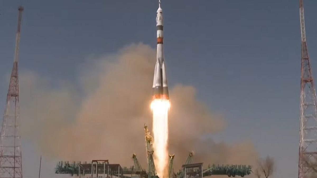 """К МКС запустили пилотируемый корабль """"Союз МС-18"""", названный в честь Гагарина"""