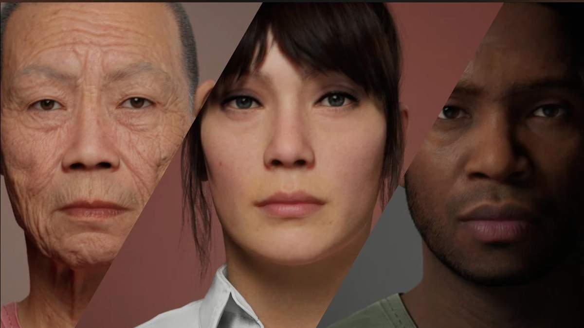 Epic Games відкрила ранній доступ до MetaHuman Creator для створення реалістичних персонажів
