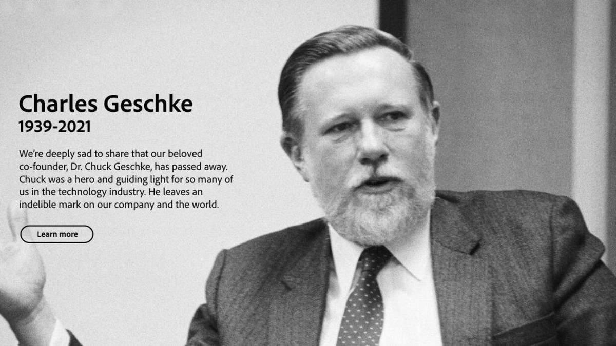"""Пішов з життя співзасновник Adobe і """"батько"""" PDF Чарльз Гешке"""