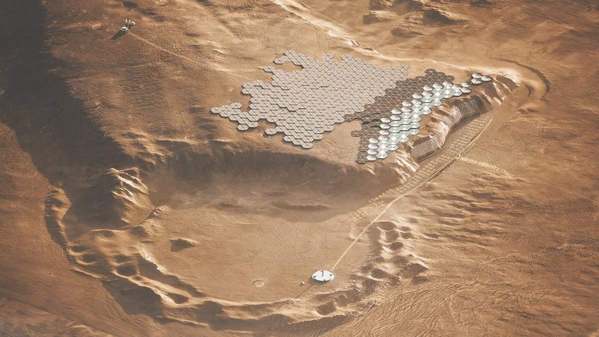 Колонизация Марса: на Красной планете могут появиться 5 городов, где будет жить миллион человек