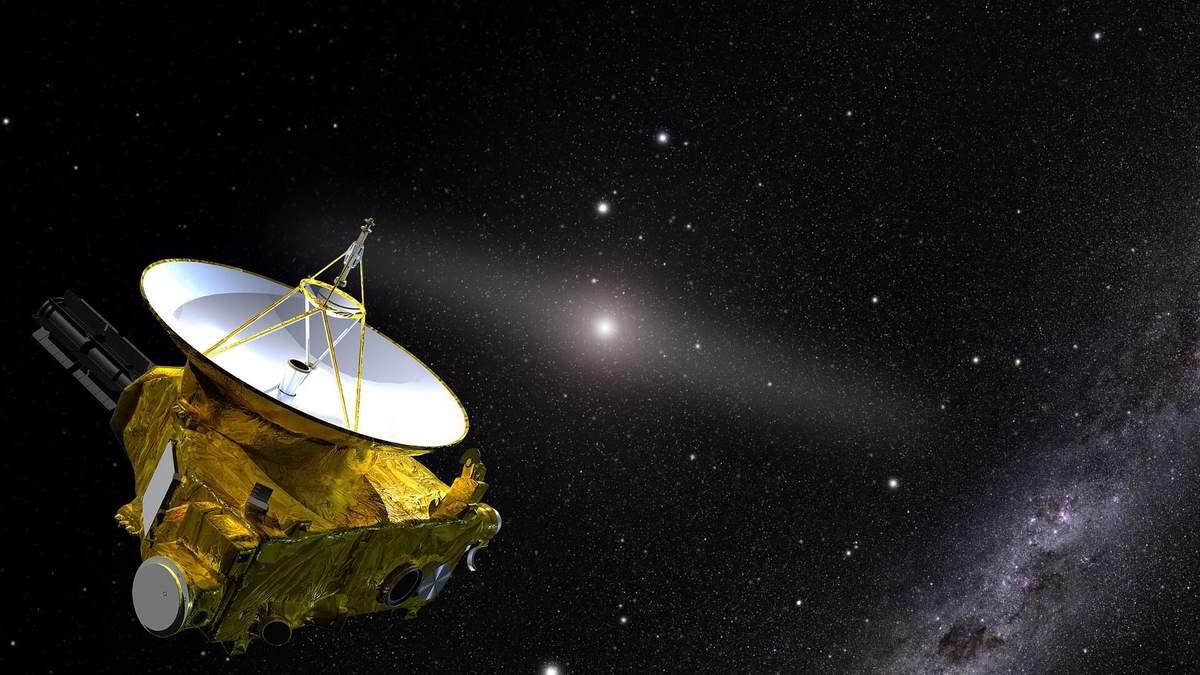 Зонд New Horizons сфотографировал самый отдаленный рукотворный объект в космосе