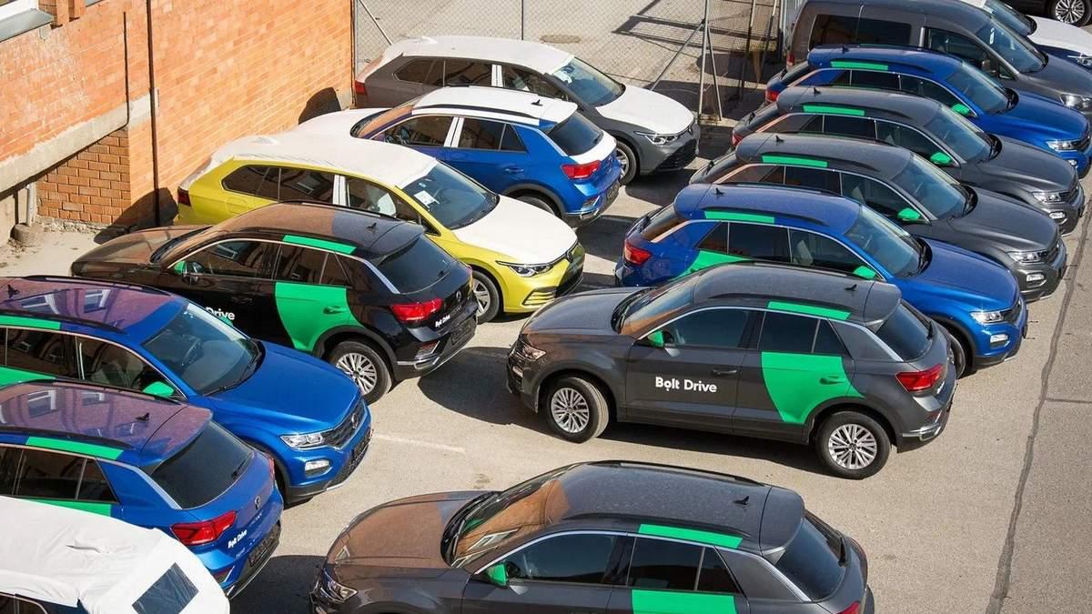 Каршеринг в Україні: коли Bolt дозволить брати автомобілі в оренду