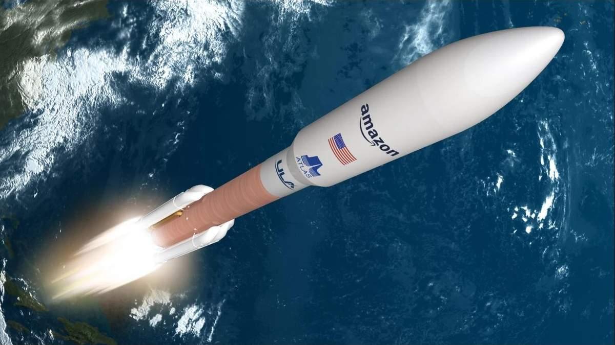 Джефф Безос обрав ULA для виводу своїх супутників на орбіту