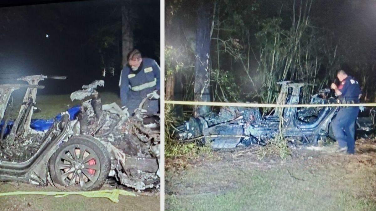 Tesla считает, что за рулем Model S, с двумя погибшими, был водитель
