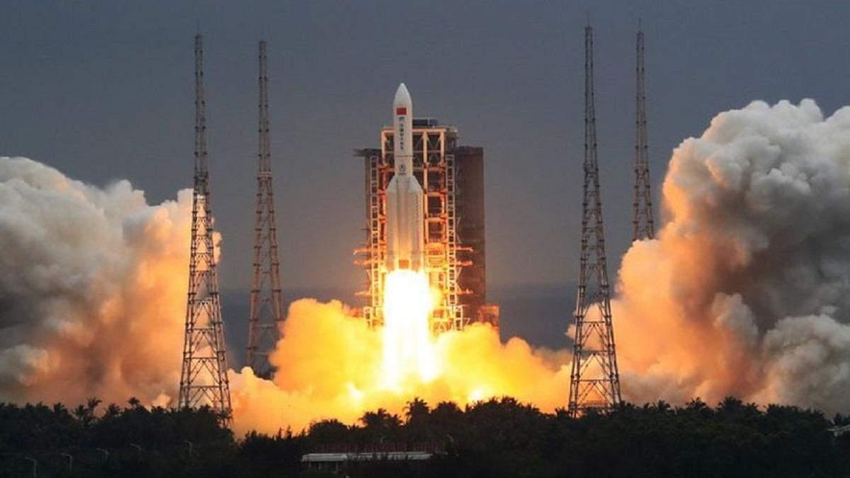"""""""Небесний палац"""": Китай вивів на орбіту головний модуль своєї майбутньої космічної станції"""