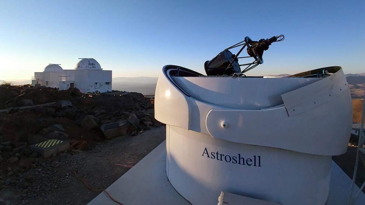 Прототип телескопу для пошуку астероїдів зробив перше фото
