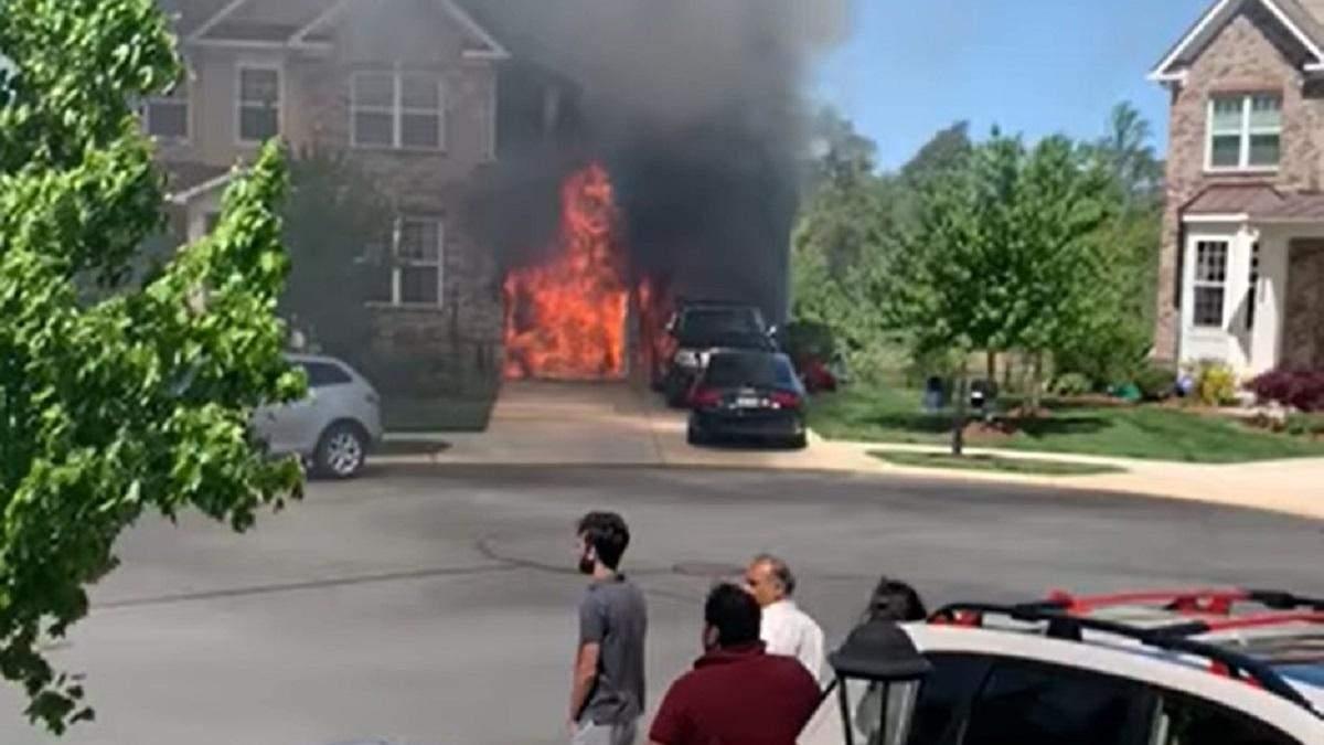 В США самовоспламенился и сгорел очередной электромобиль Chevy Bolt