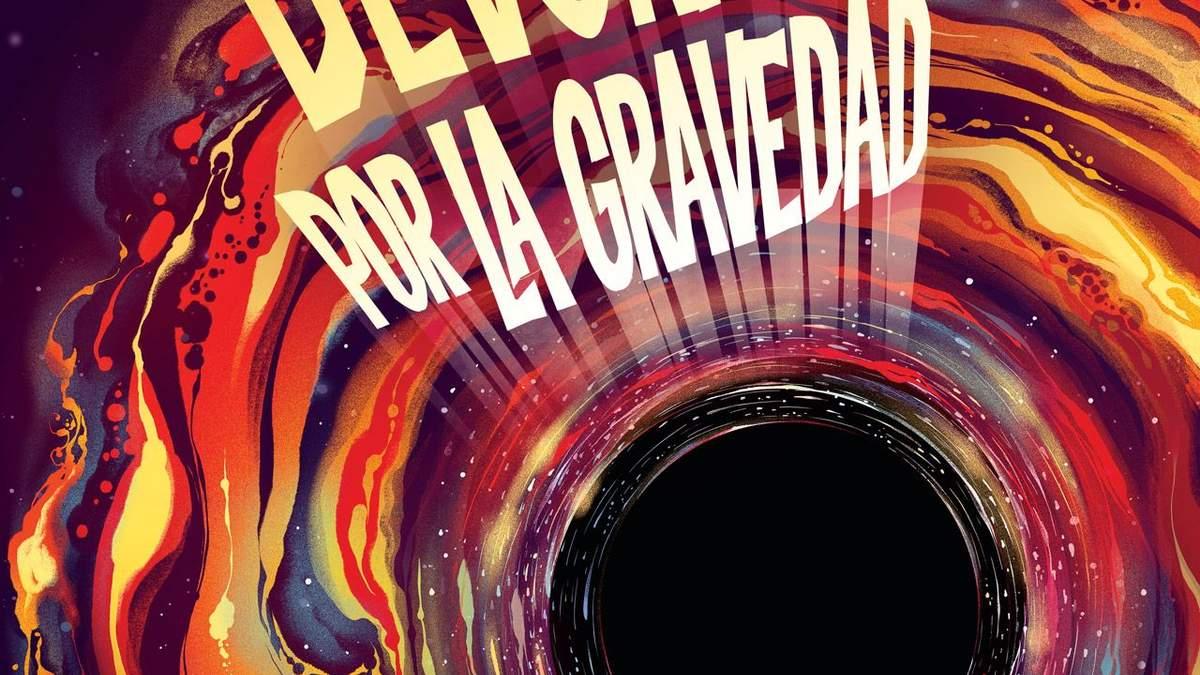 NASA опубликовала постер с изображением черной дыры