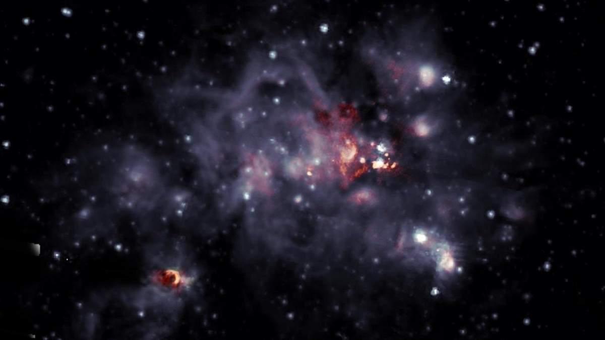 Де народжуються світила: фото колиски зірок