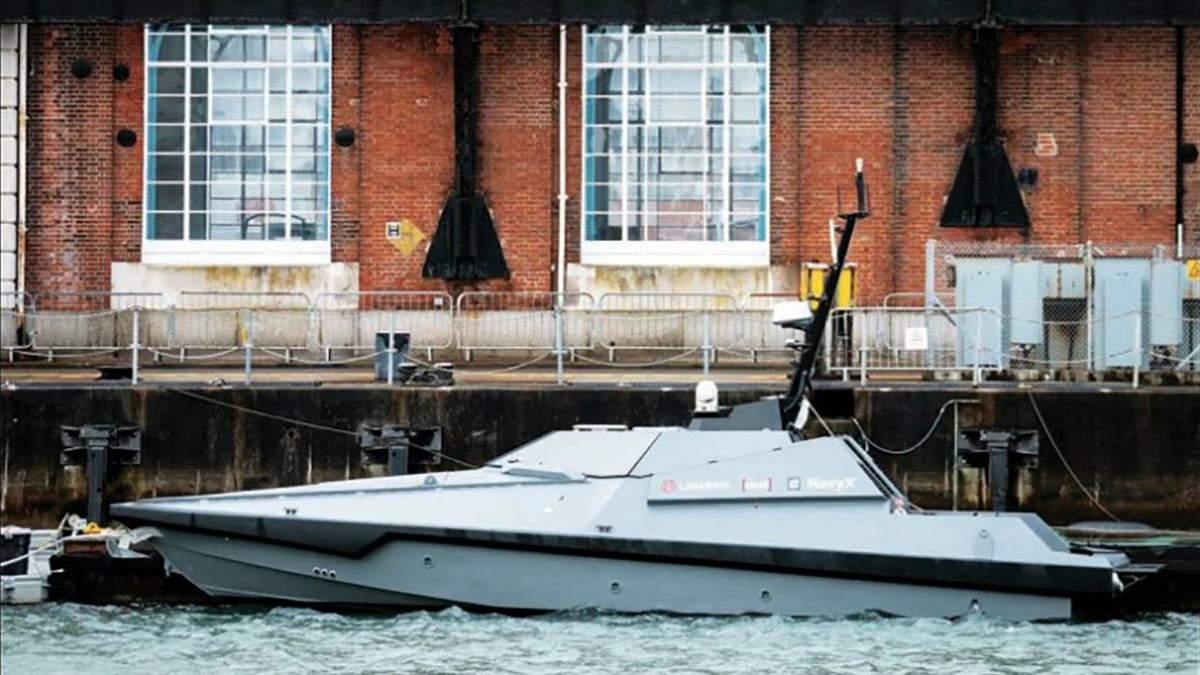 Королівський флот Великої Британії отримав безпілотний човен