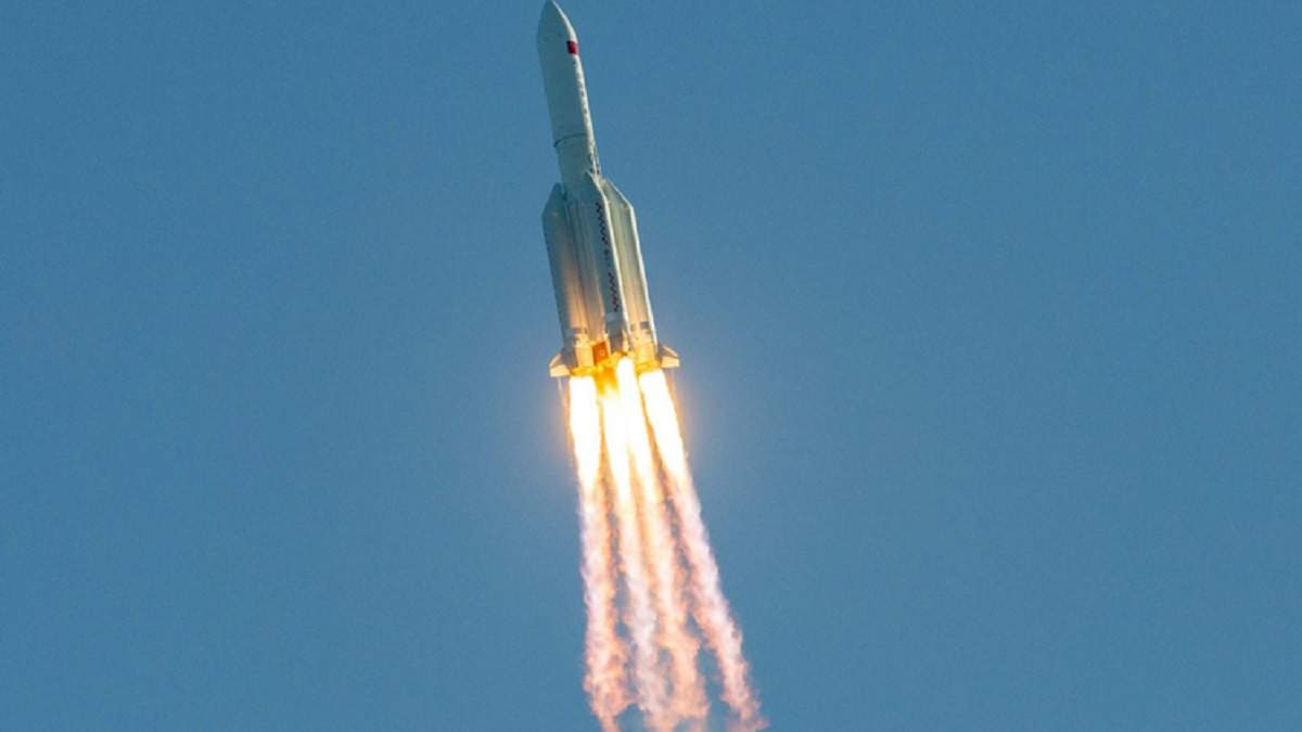 Чанчжен-5 наближається до атмосферу Землі: дата й місця падіння