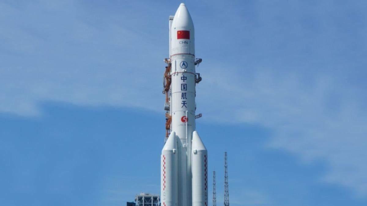 Падіння китайської ракети: час і місце досі неточні