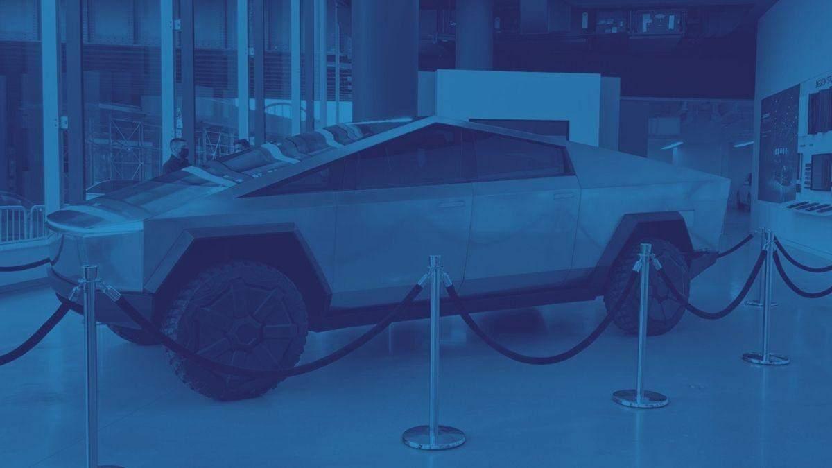 Илон Маск привез прототип электрического пикапа Cybertruck в Нью-Йорк