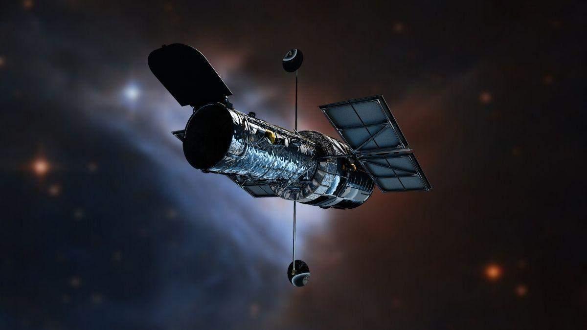 Фото двойной туманности в созвездии Единорога