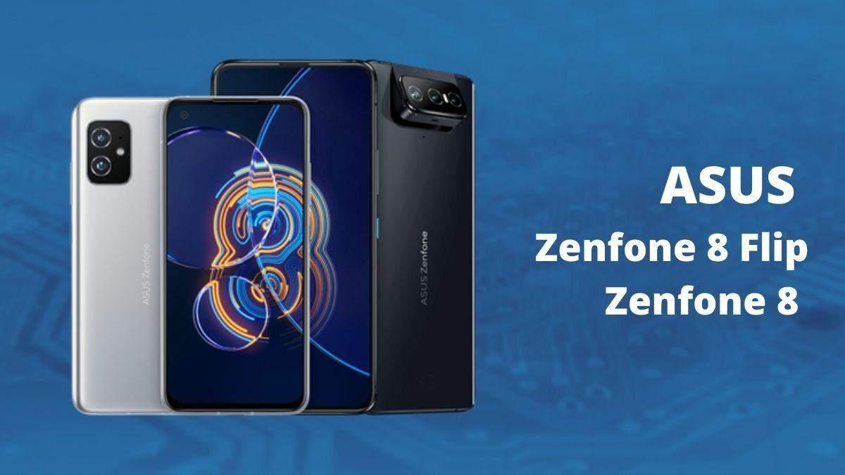 ASUS Zenfone 8 та Zenfone 8 Flip з потрійною камерою: характеристики