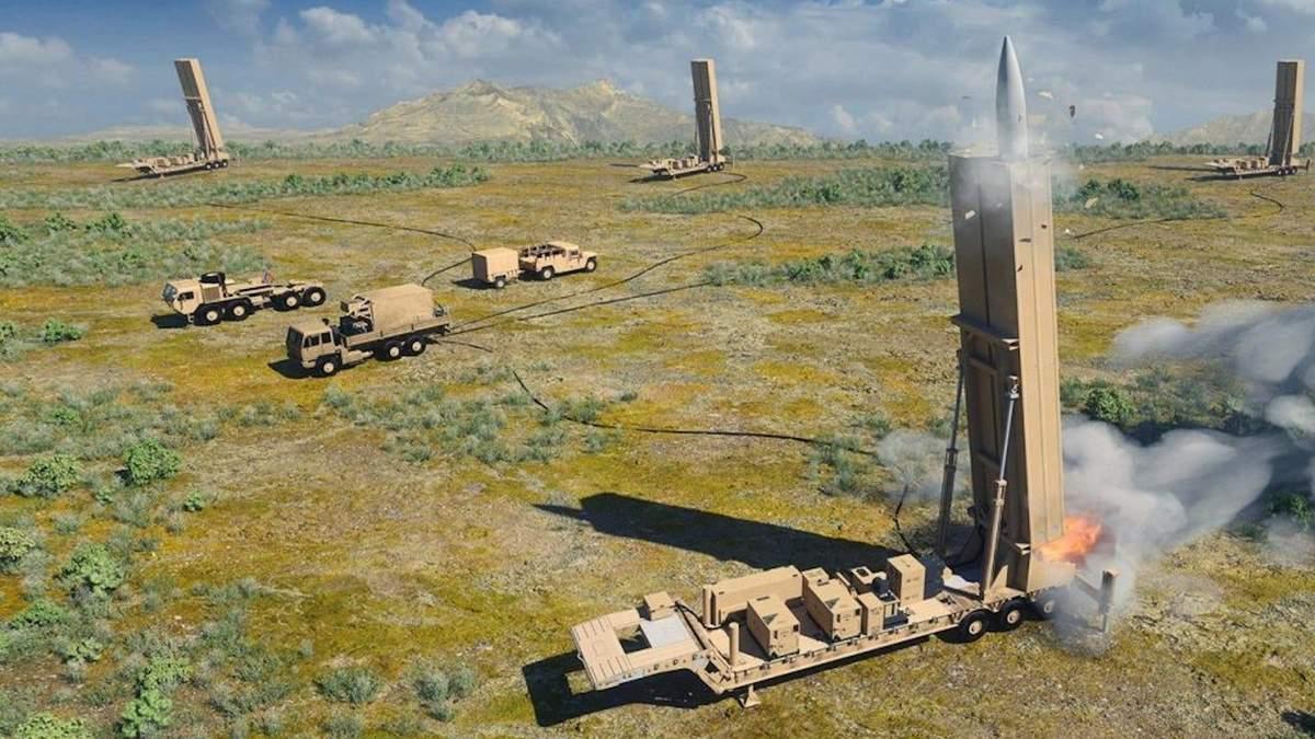 Дальність дії гіперзвукової зброї США