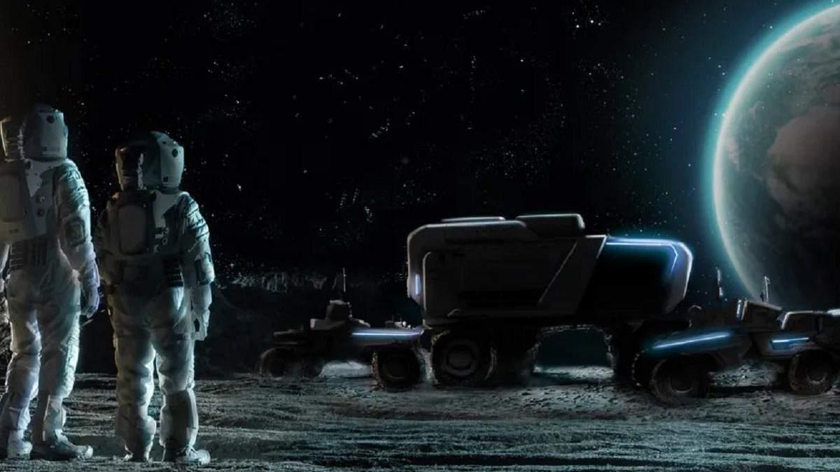 Дві приватні компанії створять для NASA місячний ровер