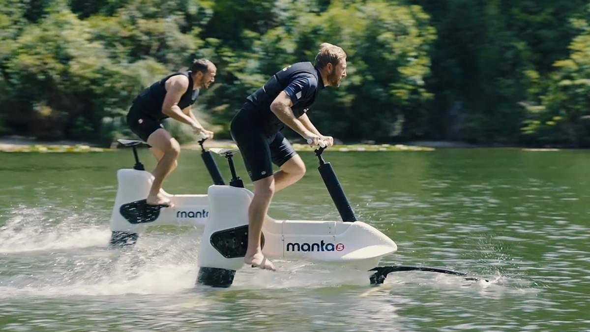Водний електровелосипед від компанії Manta5