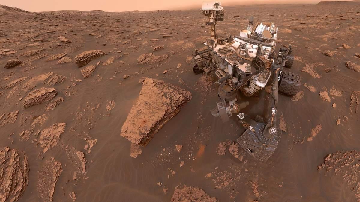 Почему на селфи марсоходов часто не видно самих марсоходов