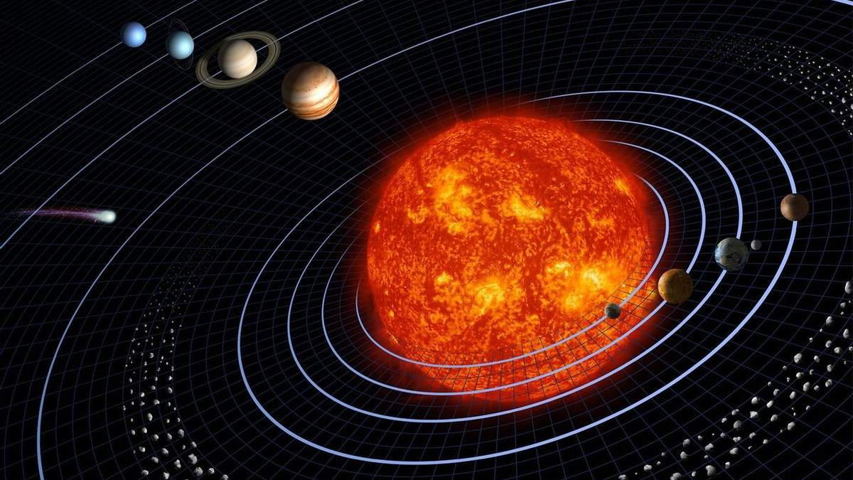 Чи може планета рухатися у протилежному напрямку