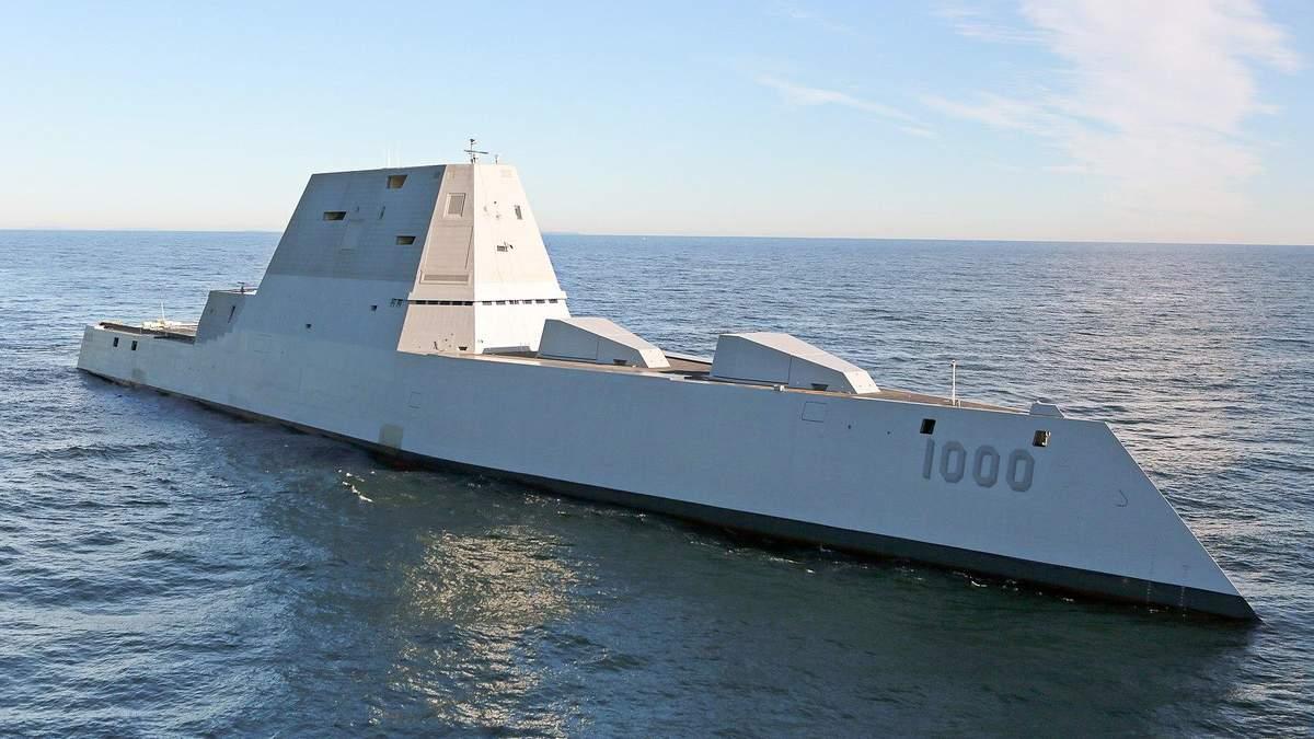 Новейшее оружие: США начали разрабатывать эсминец нового поколения
