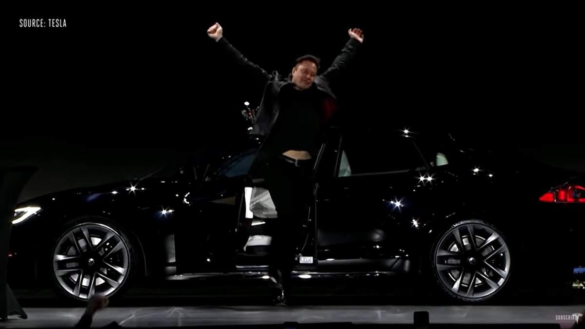 Ілон Маск представив найшвидшу та найдорожчу Tesla Model S Plaid