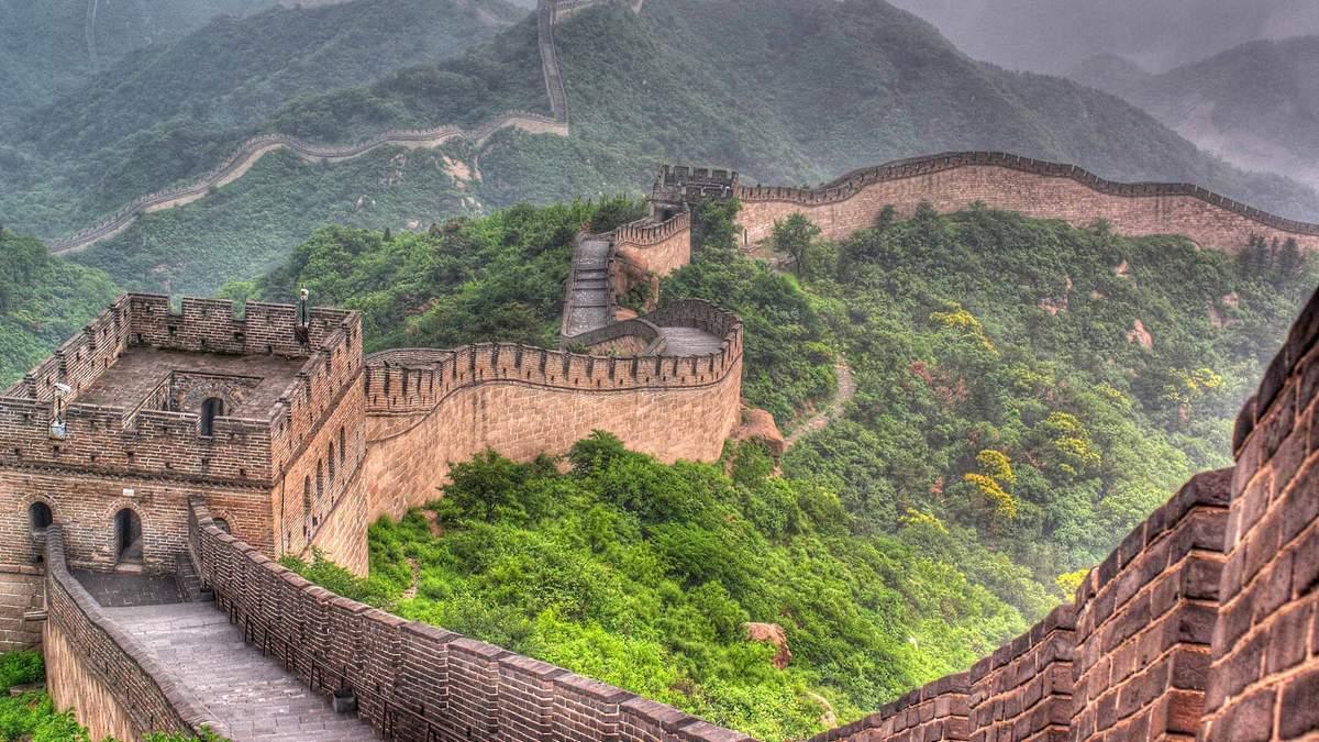 Знайдено раныше невідому частину Великої Китайської стіни: фото