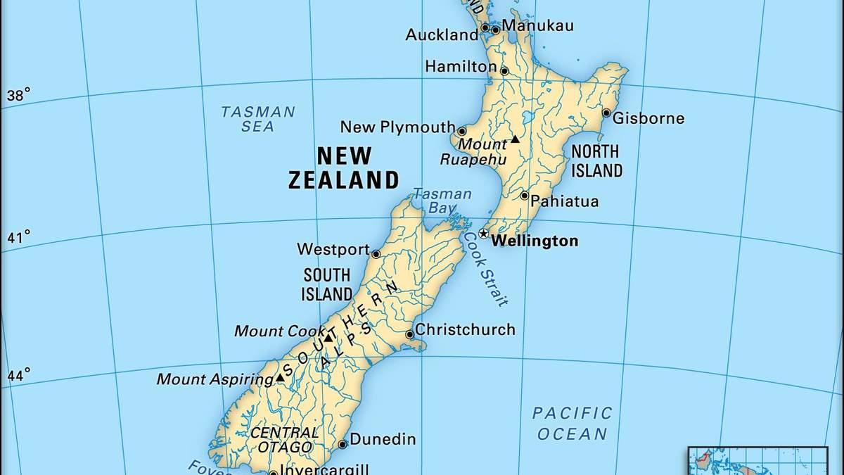 Новая Зеландия: где находится Старая Зеландия