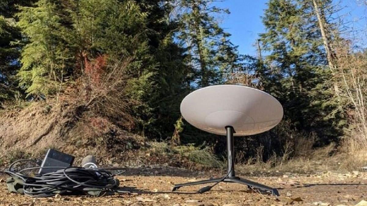 Антени для супутникового інтернету Starlink можуть перегріватися