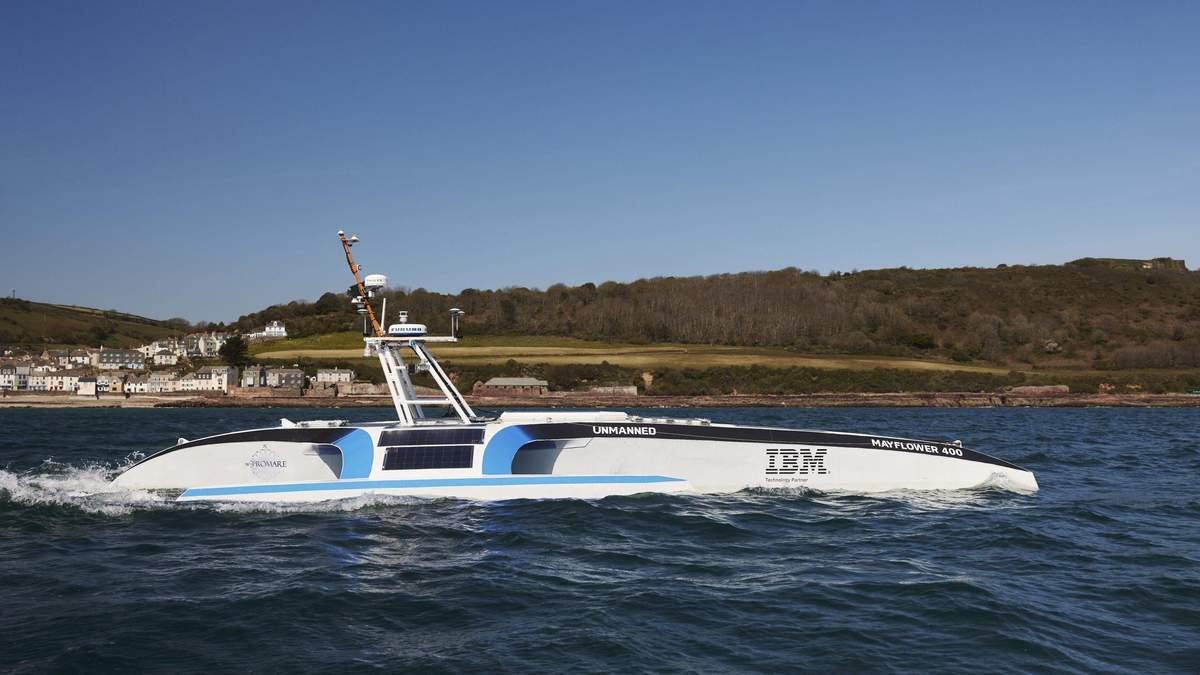 Автономний корабель без екіпажа не зміг перетнути Атлантичний океан
