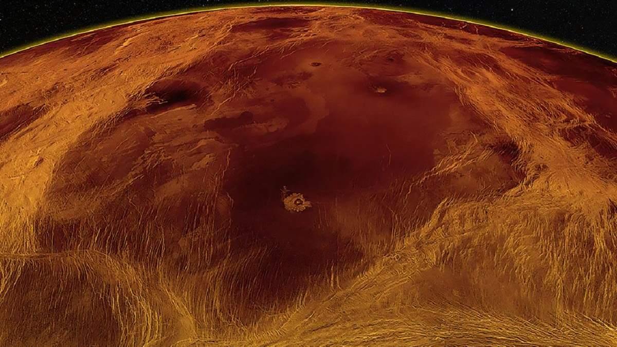 Необычную тектонику Венеры исследовали благодаря архивным данным NASA