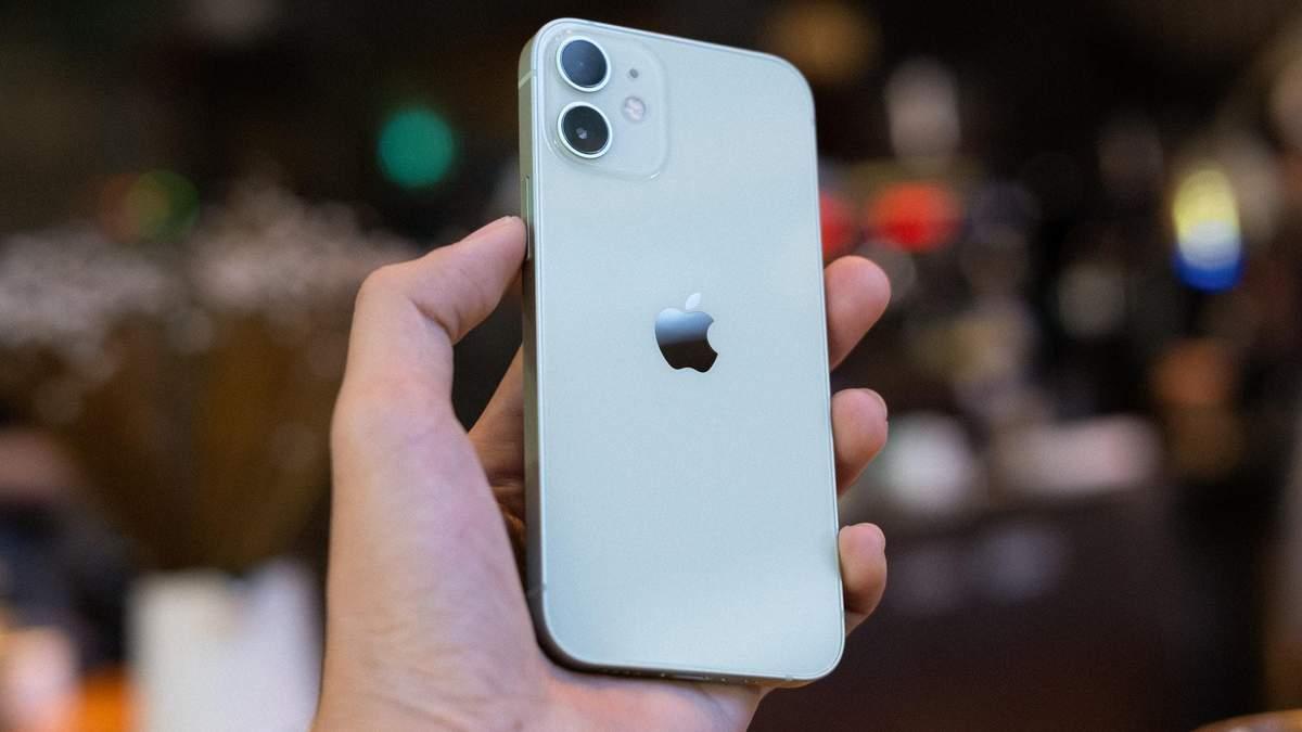 Чому Apple припинила виробництво iPhone 12 mini