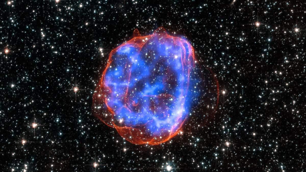 Взрыв сверхновой звезды: видео взрыва сверхновой звезды