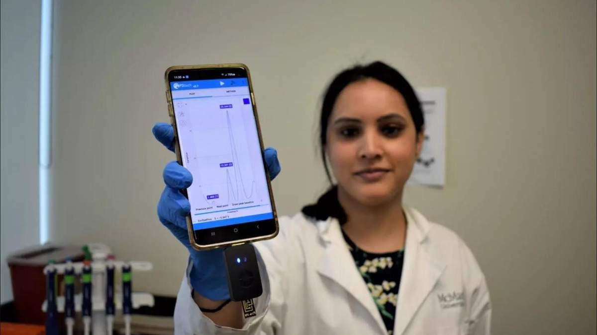 Ґаджет для смартфона виявляє хвороби за лічені хвилини