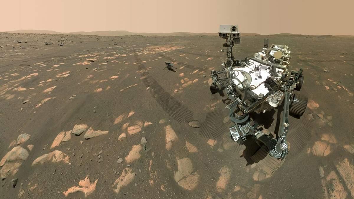 Марсохід Perseverance: як марсохід 2021 зробив перше селфі