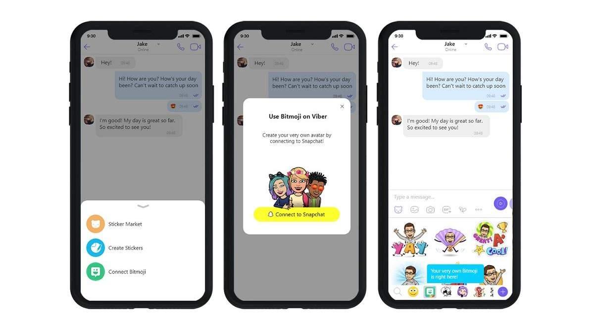 У Viber з'являться фільтри зі Snapchat та додаткові функції