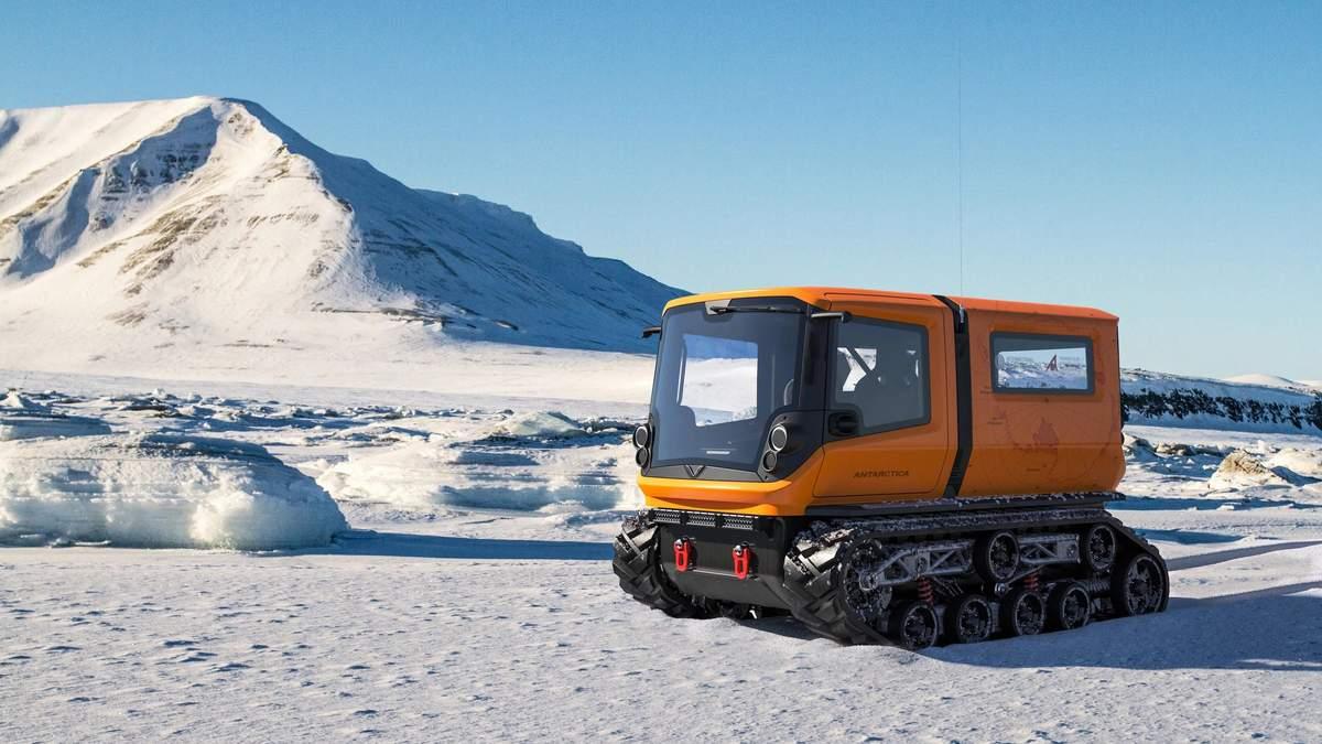 В Антарктиді з'являться електричні всюдиходи з нульовими викидами